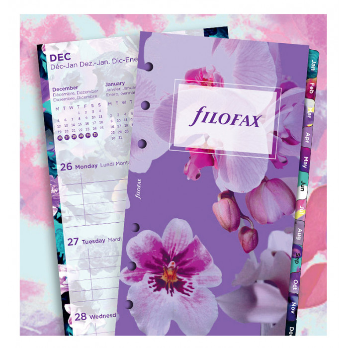 Personal Floral Illustrated Diary Refill Pack