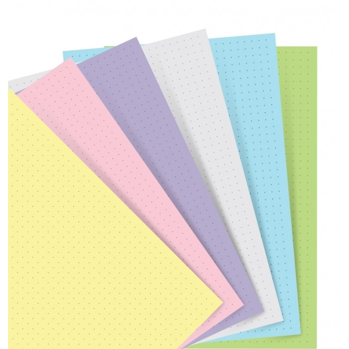 Filofax Notebook Pastel Dotted Journal Refill