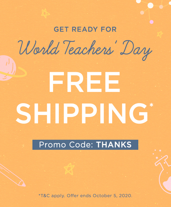 Free Shipping with code THANKS
